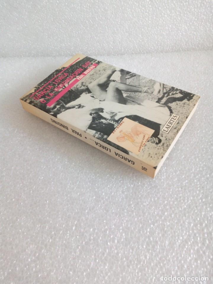 GARCIA LORCA O LA IMAGINACION GAY. SU OBRA Y SENSIBILIDAD HOMOSEXUAL - PAUL BINDING - 1987 - 1ª EDIC (Libros de Segunda Mano (posteriores a 1936) - Literatura - Ensayo)