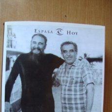 Libros de segunda mano: GABO FIDEL. EL PAISAJE DE UNA AMISTAD ESPASA 2004 COMO NUEVO. Lote 171357957