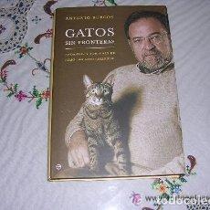 Libros de segunda mano: GATOS SIN FRONTERAS DE ANTONIO BURGOS . Lote 171460162