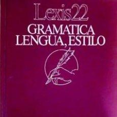 Libros de segunda mano: GRAMATICA LENGUA, ESTILO. Lote 171622605