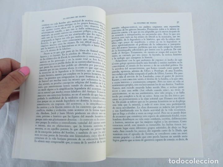 Libros de segunda mano: MIMESIS. ERICH AUERBACH. FONDO DE CULTURA ECONOMICA. 1996. VER FOTOGRAFIAS ADJUNTAS - Foto 9 - 172706194