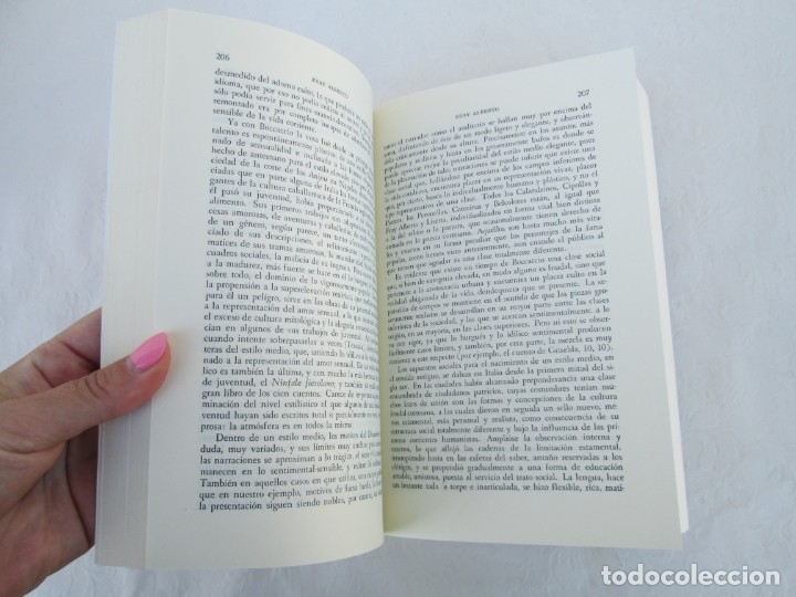 Libros de segunda mano: MIMESIS. ERICH AUERBACH. FONDO DE CULTURA ECONOMICA. 1996. VER FOTOGRAFIAS ADJUNTAS - Foto 11 - 172706194