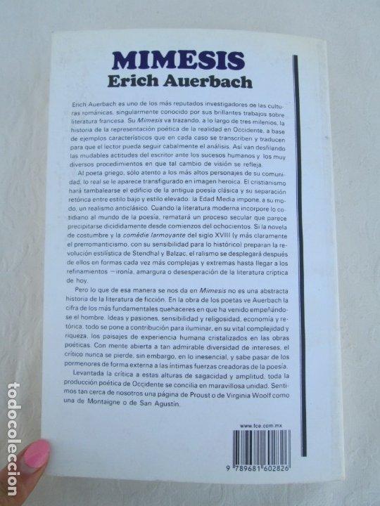 Libros de segunda mano: MIMESIS. ERICH AUERBACH. FONDO DE CULTURA ECONOMICA. 1996. VER FOTOGRAFIAS ADJUNTAS - Foto 15 - 172706194