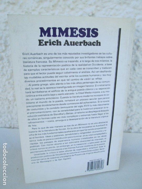 Libros de segunda mano: MIMESIS. ERICH AUERBACH. FONDO DE CULTURA ECONOMICA. 1996. VER FOTOGRAFIAS ADJUNTAS - Foto 16 - 172706194