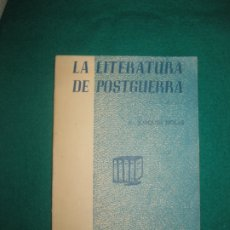 Libros de segunda mano: LA LITERATURA DE POSTGUERRA. JOAQUIM MOLAS. EPISODIS DE LA HISTORIA Nº 78.. Lote 172845367