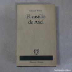 Libros de segunda mano: EL CASTILLO DE AXEL - EDMUND WILSON - DESTINO - 1996. Lote 173017495