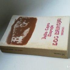 Libros de segunda mano: JULIO CARO BAROJA. LOS BAROJA.. Lote 173031729