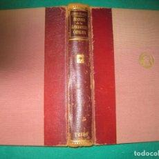 Libros de segunda mano: JOAN RUIZ YCALONJA. HISTORIA DE LA LITERATURA CATALANA.EDITORIAL TEIDE 1954.. Lote 173438330