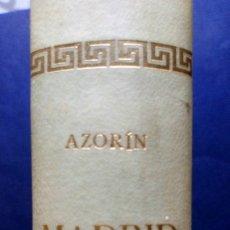Libros de segunda mano: MADRID - AZORIN. Lote 173476315