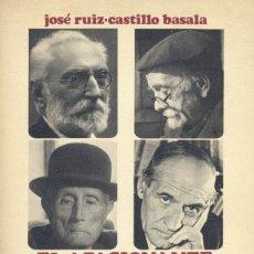 Libros de segunda mano: EL APASIONANTE MUNDO DEL LIBRO. MEMORIAS DE UN EDITOR, 1972. JOSÉ RUIZ CASTILLO BASALA. Lote 175632708