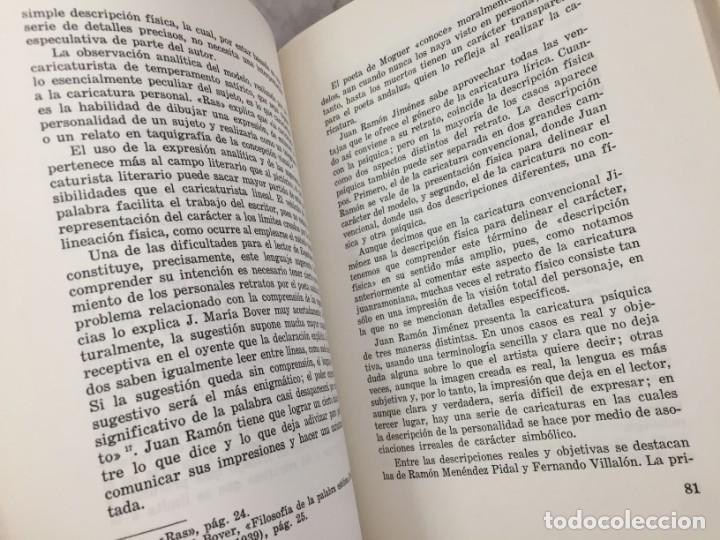 Libros de segunda mano: El arte polifacetico de las caricaturas liricas juanramonianas. Salgado, Maria Antonia 1968 - Foto 4 - 175745050