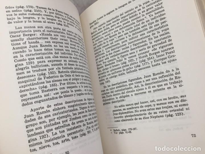 Libros de segunda mano: El arte polifacetico de las caricaturas liricas juanramonianas. Salgado, Maria Antonia 1968 - Foto 5 - 175745050