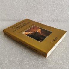 Libros de segunda mano: ZIBALDONE DE PENSAMIENTOS - GIACOMO LEOPARDI - TUSQUETS (MARGINALES) 1990.. Lote 177182103