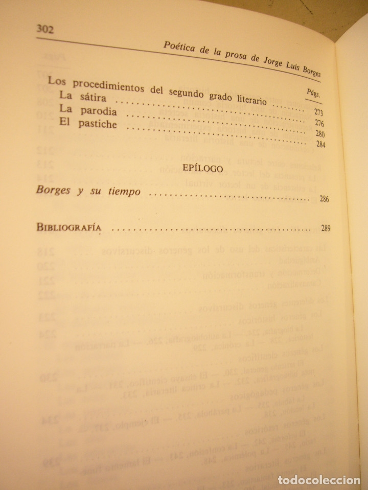 Libros de segunda mano: ALBERTO JULIÁN PÉREZ: POÉTICA DE LA PROSA DE JORGE LUIS BORGES (GREDOS, 1986) - Foto 11 - 177670357