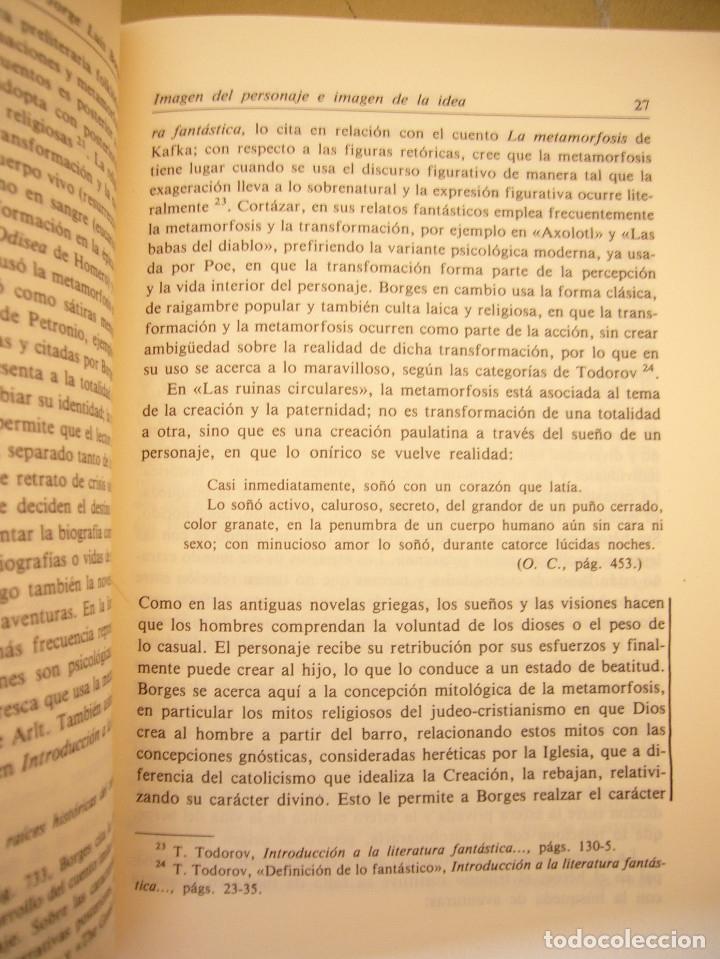 Libros de segunda mano: ALBERTO JULIÁN PÉREZ: POÉTICA DE LA PROSA DE JORGE LUIS BORGES (GREDOS, 1986) - Foto 12 - 177670357