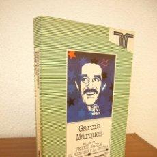 Libros de segunda mano: PETER EARLE (ED.): GABRIEL GARCÍA MÁRQUEZ (TAURUS, EL ESCRITOR Y LA CRÍTICA, 1982) PERFECTO. Lote 177670669