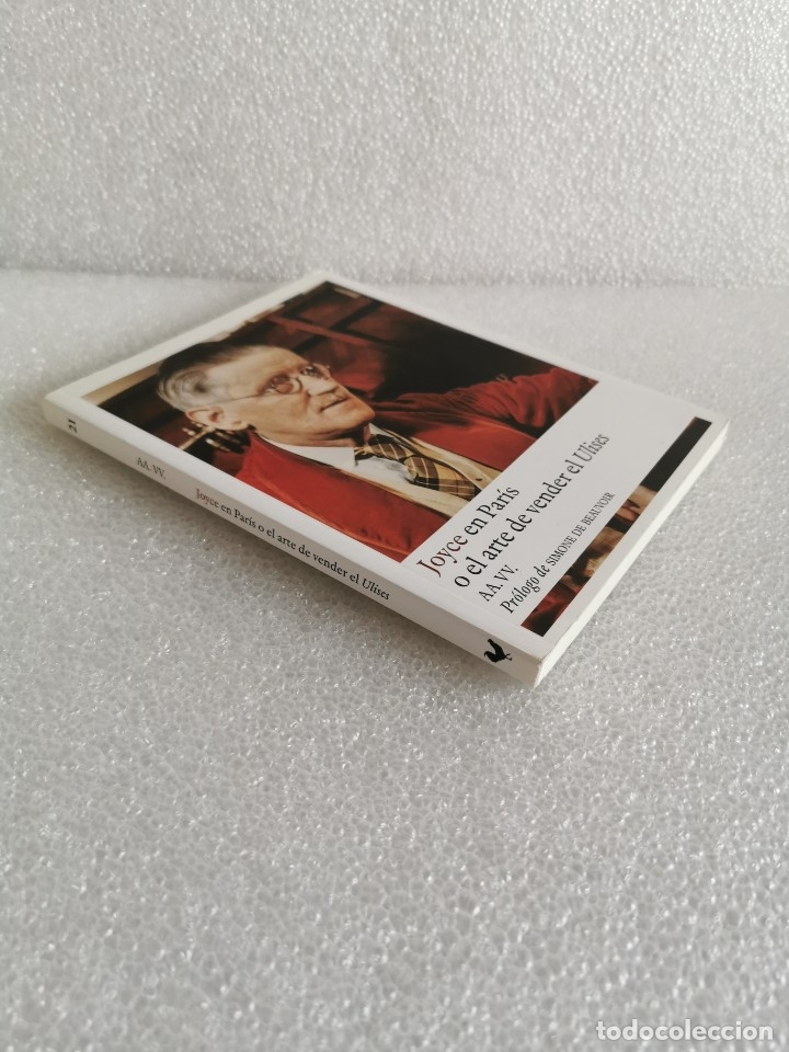 JOYCE EN PARÍS O EL ARTE DE VENDER EL ULISES - PRÓLOGO DE SIMONE DE BEAUVOIR, MUY BUEN ESTADO (Libros de Segunda Mano (posteriores a 1936) - Literatura - Ensayo)