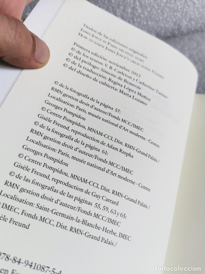 Libros de segunda mano: JOYCE EN PARÍS O EL ARTE DE VENDER EL ULISES - PRÓLOGO DE SIMONE DE BEAUVOIR, MUY BUEN ESTADO - Foto 5 - 177938498