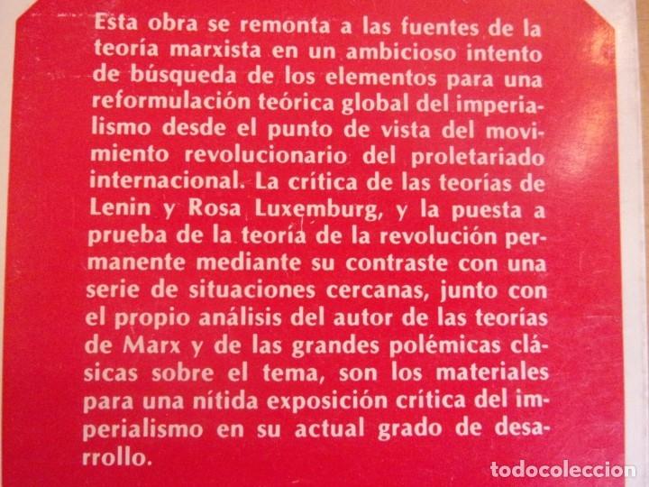 Libros de segunda mano: EL IMPERIALISMO. EN LENIN,TROTSKI Y ROSA LUXEMBURG / JACQUES VALIER / 1ª EDICIÓN 1977. FONTAMARA - Foto 2 - 178122132