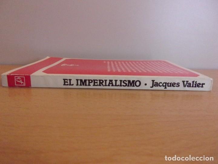 Libros de segunda mano: EL IMPERIALISMO. EN LENIN,TROTSKI Y ROSA LUXEMBURG / JACQUES VALIER / 1ª EDICIÓN 1977. FONTAMARA - Foto 3 - 178122132