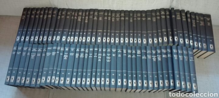 BIBLIOTECA PERSONAL BORGES. COMPLETA. 80 TOMOS. ORBIS. 1986. BUEN ESTADO. (Libros de Segunda Mano (posteriores a 1936) - Literatura - Ensayo)
