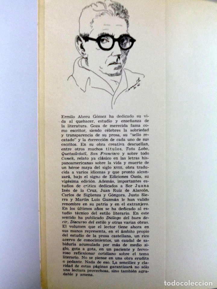Libros de segunda mano: MARTÍN LUIS GUZMAN // ANTOLOGÍA // PRÓLOGO DE ERMILO ABREU GÓMEZ // MÉXICO // 1970 - Foto 2 - 178373457