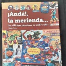 Libros de segunda mano: LIBRO DIABOLO: ¡ANDA! LA MERIENDA VICENTE PIZARRO FIRMADO POR EL AUTOR. Lote 178603045