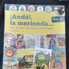 Libros de segunda mano: LIBRO DIABOLO: ¡ANDA! LA MERIENDA VOL II VICENTE PIZARRO FIRMADO POR EL AUTOR. Lote 178603311