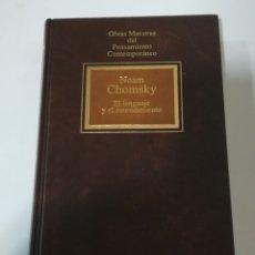 Libros de segunda mano: EL LENGUAJE Y EL ENTENDIMIENTO DE NOAM CHOMSKY - EDITORIAL PLANETA. EDICIÓN DE 1992. Lote 178928871