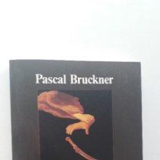 Libros de segunda mano: LA TENTACION DE LA INOCENCIA (4ª ED.) - PASCAL BRUCKNER. Lote 179118777