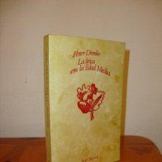 Libros de segunda mano: LA LÍRICA EN LA EDAD MEDIA - PETER DRONKE - SEIX BARRAL. Lote 180007822