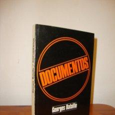 Libros de segunda mano: DOCUMENTOS - GEORGES BATAILLE - MONTE AVILA EDITORES,. Lote 180083557