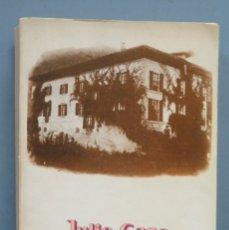 Libros de segunda mano: LOS BAROJA. JULIO CARO BAROJA. TAURUS. Lote 180315831