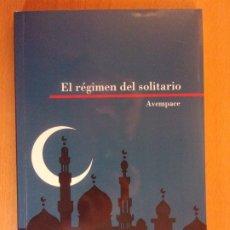 Libros de segunda mano: EL RÉGIMEN DEL SOLITARIO / AVEMPACE / 2010. HERALDO DE ARAGÓN. Lote 180990705