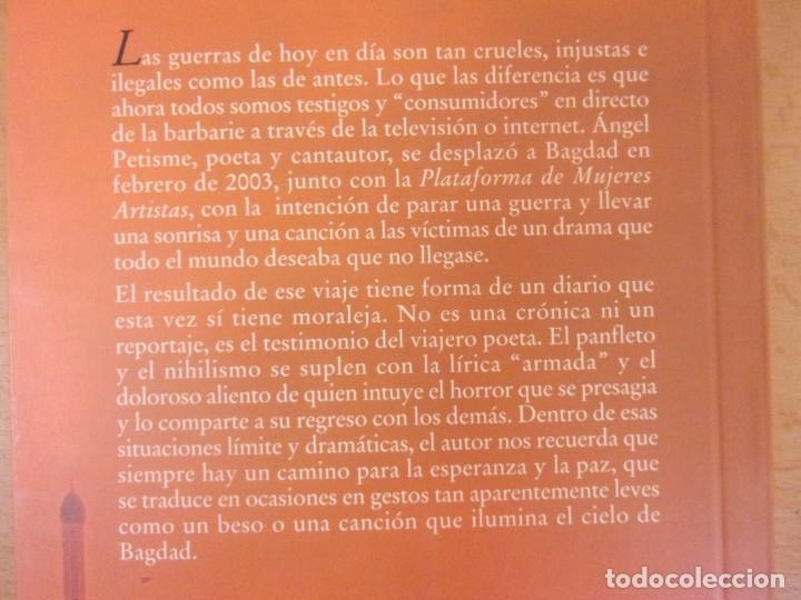 Libros de segunda mano: EL CIELO DE BAGDAD / ÁNGEL PETISME / 2004. XORDICA - Foto 2 - 181710018