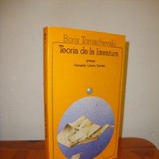 Libros de segunda mano: TEORÍA DE LA LITERATURA - BORIS TOMACHEVSKI - AKAL, EXCELENTE ESTADO. Lote 182244418
