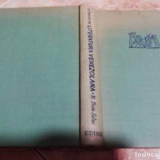 Libros de segunda mano: ESTUDIOS DE LITERATURA VENEZOLANA. MARIANO PICÓN SALAS. 1961. Lote 182643151