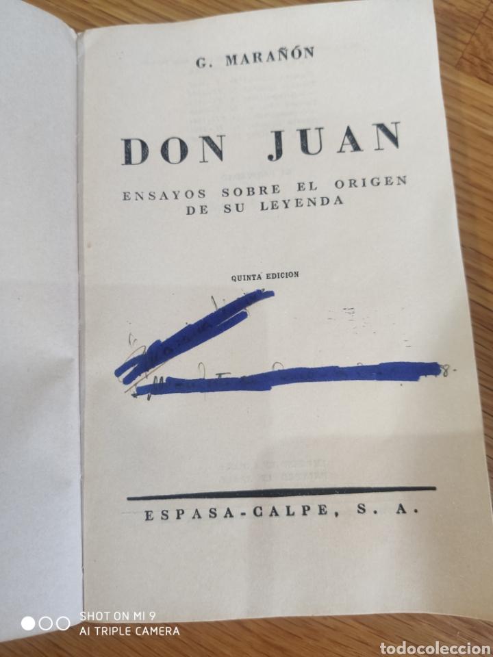 Libros de segunda mano: Don Juan - Foto 3 - 182757640