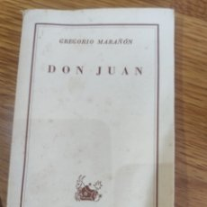 Libros de segunda mano: DON JUAN. Lote 182757640