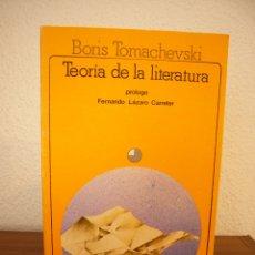 Libros de segunda mano: BORIS TOMACHEVSKI: TEORÍA DE LA LITERATURA (AKAL, 1982) EXCELENTE ESTADO. Lote 182966373