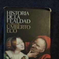 Libros de segunda mano: HISTORIA DE LA FEALDAD- UMBERTO ECO.EDIT. LUMEN. 2007.. Lote 182996166