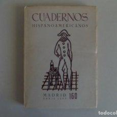 Libros de segunda mano: LIBRERIA GHOTICA. CUADERNOS HISPANOAMERICANOS.MADRID ABRIL 1963. MIES VAN DE ROHE. NÚM.160. Lote 183477941