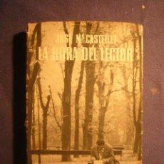 Libros de segunda mano: JOSE MA. CASTELLET: - LA HORA DEL LECTOR - (BARCELONA, 1957) (PRIMERA EDICION). Lote 183537582