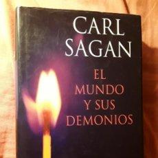 Libros de segunda mano: EL MUNDO Y SUS DEMONIOS, DE CARL SAGAN. TAPA DURA. PLANETA. CIENCIA.. Lote 183867192
