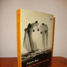 Libros de segunda mano: JUEGOS PARA ACTORES Y NO ACTORES - AUGUSTO BOAL - ALBA ARTES ESCÉNICAS, MUY BUEN ESTADO. Lote 183913038