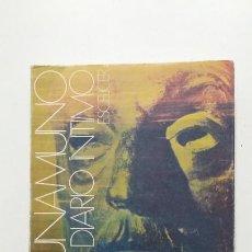 Libros de segunda mano: MIGUEL DE UNAMUNO. DIARIO ÍNTIMO. PRÓLOGO-ESTUDIO DEL P. FÉLIX GARCÍA. ESCELICER. 1970. TDK423. Lote 184041107