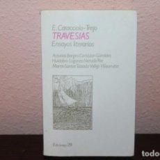Libros de segunda mano: TRAVESIAS. Lote 184210778