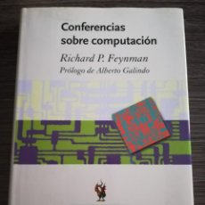 Libros de segunda mano: CONFERENCIAS SOBRE COMPUTACIÓN RICHARD P FEYNMAN DRAKONTOS CLÁSICOS CRÍTICA. Lote 208050485