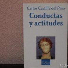 Libros de segunda mano: CONDUCTAS Y ACTITUDES. Lote 187224612