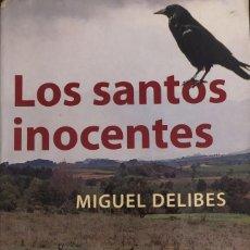 Libros de segunda mano: LIBROS DE SEGUNDA MANO: LOS SANTOS INOCENTES DE MIGUEL DELIBES. LOTE 50755970 LOS SANTOS INOCENTES D. Lote 187421295